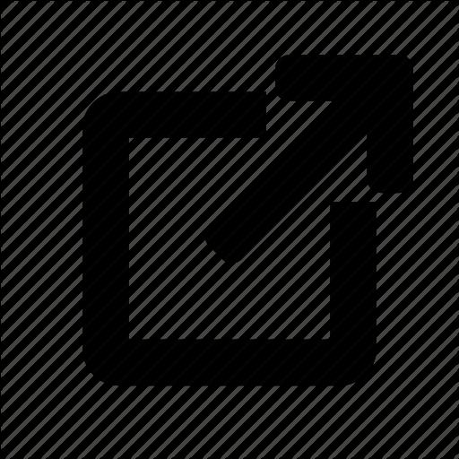 Exit, External, Leave, Link, Open, Website, Window Icon