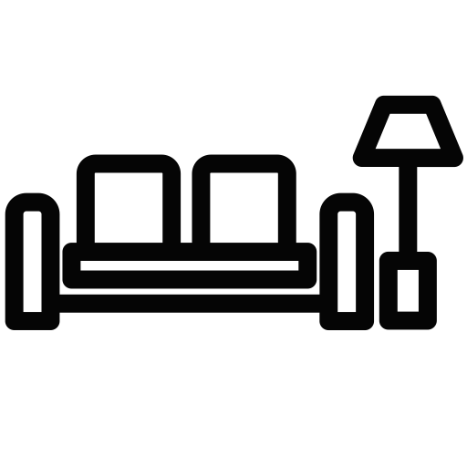 Living Room, Linear, Living Room Icon With Png And Vector Format