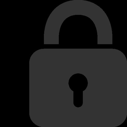 Lock Transparent Minimalist Huge Freebie! Download