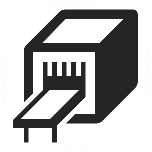 Industrial Machine Icon Iconexperience