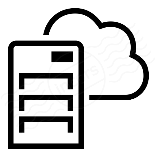 Iconexperience I Collection Server Cloud Icon