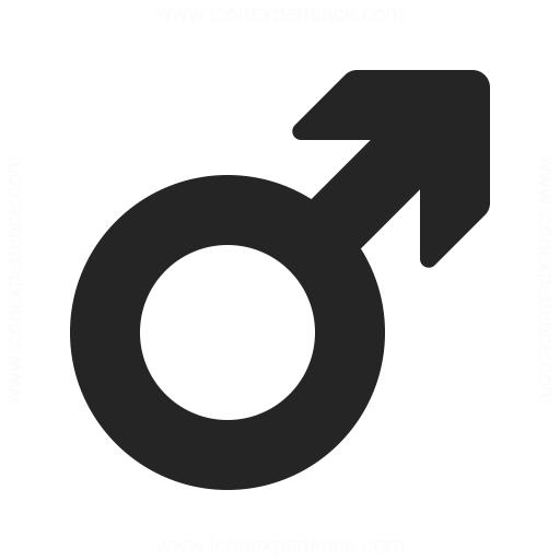 Symbol Male Icon Iconexperience