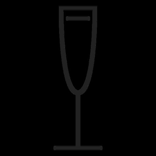 White Wine Glass Icon