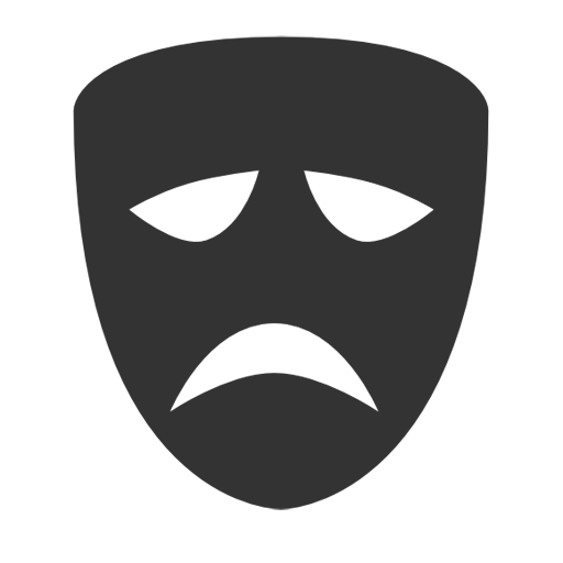 Tragedy Mask Icon Download Free Icons