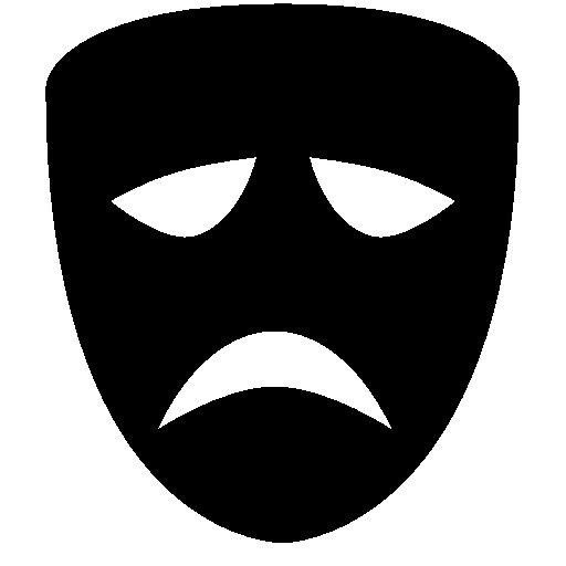 Cinema Tragedy Mask Icon Windows Iconset