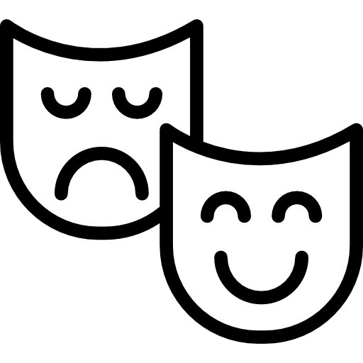 Theater Masks Icons Free Download