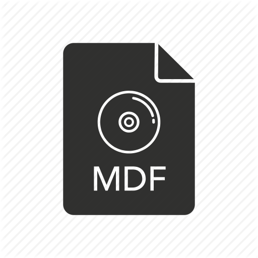 Mdf, Mdf Icon, Media Disc Image, Media Disc Image Icon