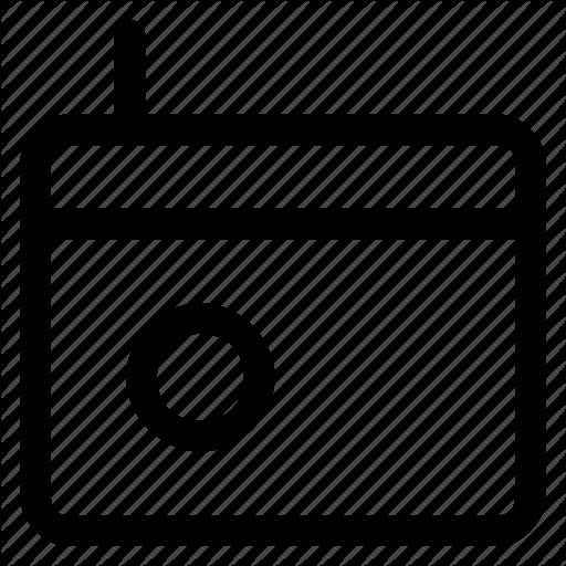 Device, Icon, Media, Radio Icon