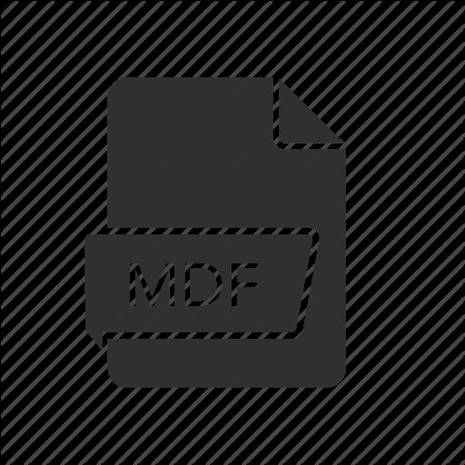 , Mdf, Mdf Icon, Media Disc Image Icon
