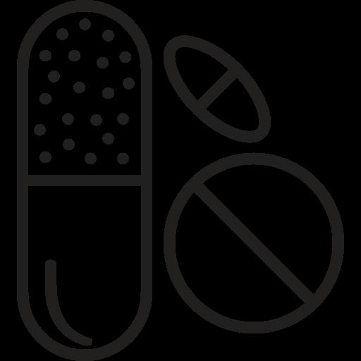 Medicine, Drug, Medicine, Pills, Tablets, Medical Icon Free
