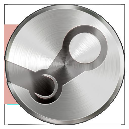 Steel Steam Icon On Behance