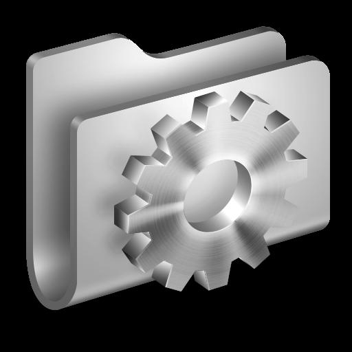 Developer Metal Folder Icon Alumin Folders Iconset Wil Nichols