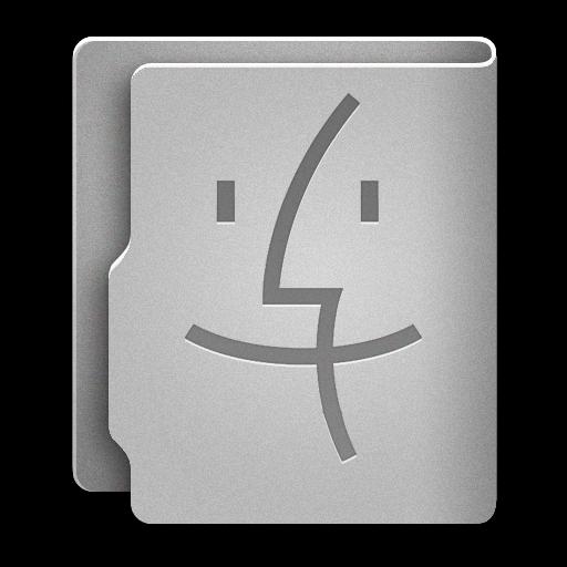 Finder Icon Aquave Metal Iconset