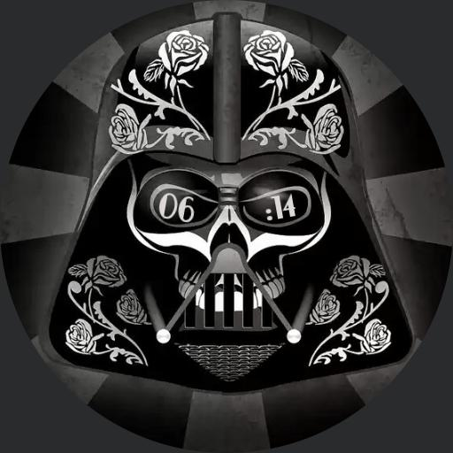 Mexican Art Darth Vader For G Watch R
