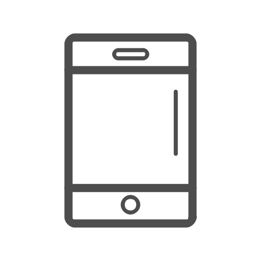 Mobile, Mobile Line Icon, Cell Phone, Cell Phone Icon, Mobile Icon