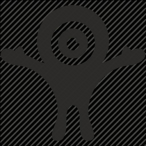 Eye, Happy, Hero, Monster Icon