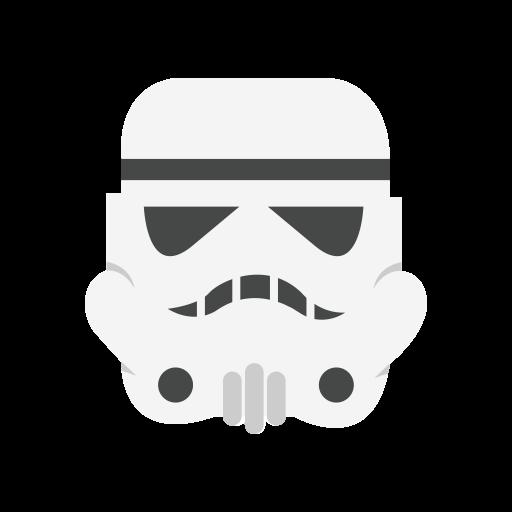 Helmet, Mask, Starwars, Storm Trooper Icon