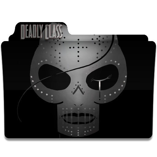 Deadly Class Tv Series Folder Icon