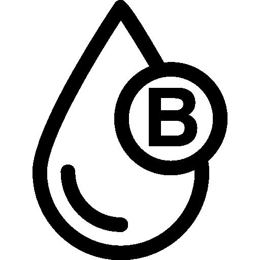 Blood Type B Icons Free Download