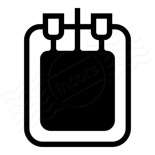 Iconexperience I Collection Blood Bag Icon