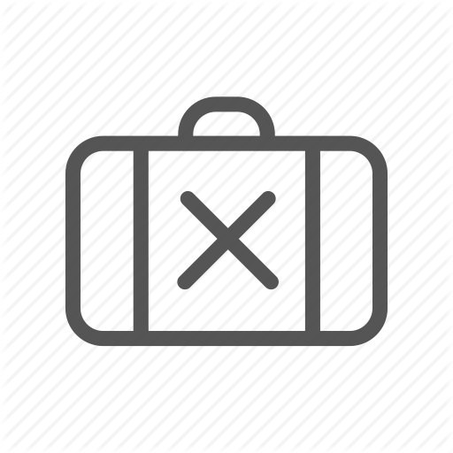 Bag, Baggage, Case, Excess, Luggage, Overload, Suitcase Icon