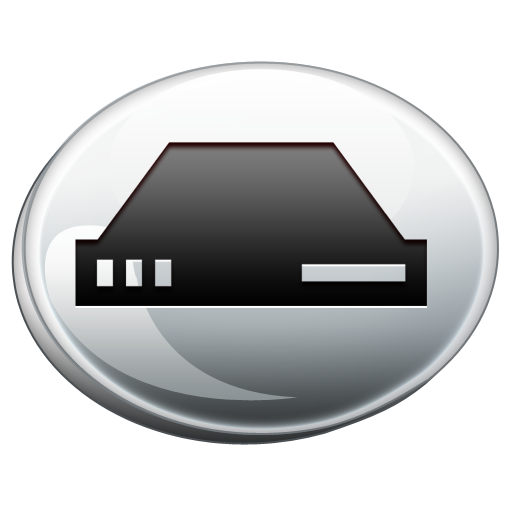 Hard Drive Silver Icons, Free Icons In Computer Icon Pack