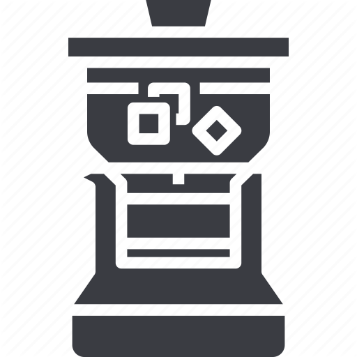 Brew, Coffee, Cold, Drip, Ice, Iced, Maker Icon