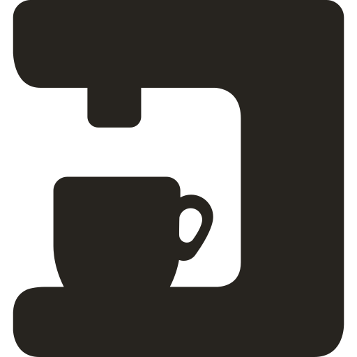 Coffe, Maker Icon Free Of Amenities Solid Icons