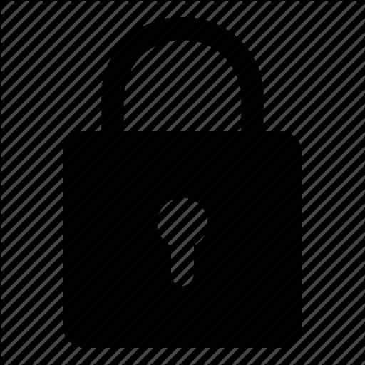 Basic, Lock, Password, Protect, Security, Ui Icon