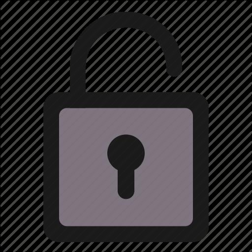 Basic, Lock, Log In, Log Off, Password, Ui, Unlock Icon