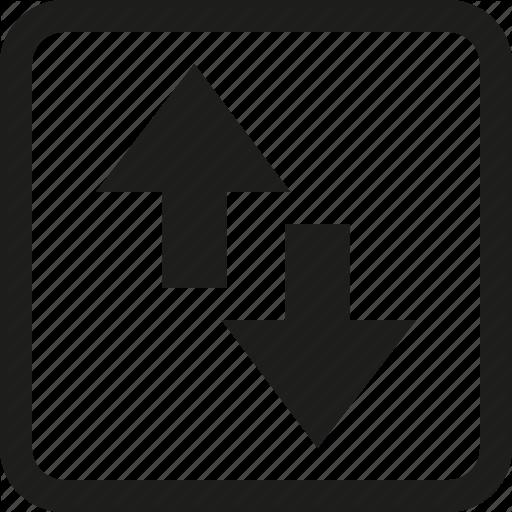 Arrow, Torrent, Transfer Icon