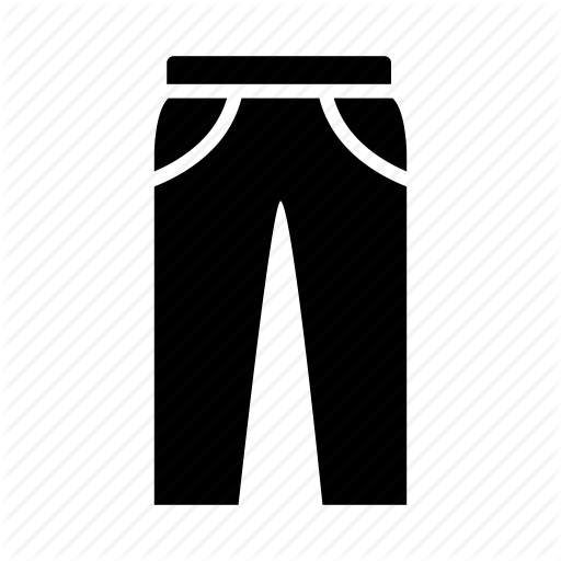 Cloth, Clothing, Pants, Trousers Icon
