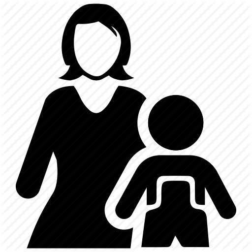 Child Care, Mother, Pediatrics Icon