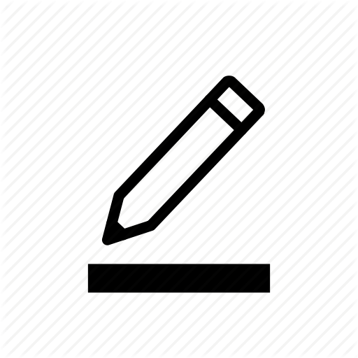 Edit, Pen, Pencil, Text, Text Edit Icon