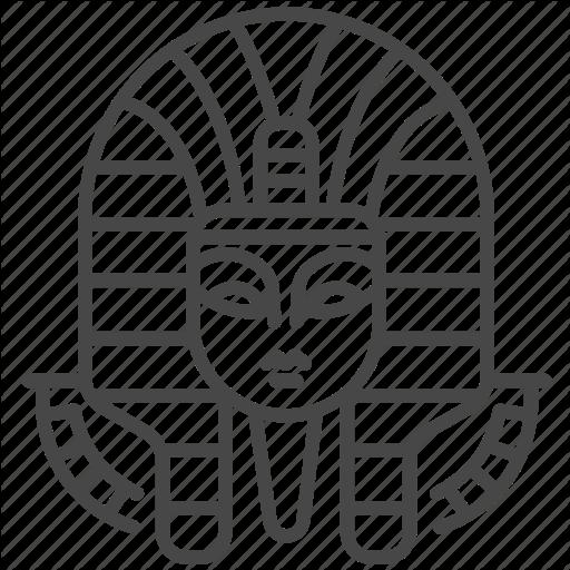 Ancient, Dynasty, Egypt, Egyptian, Monarchs, Pharaoh Icon