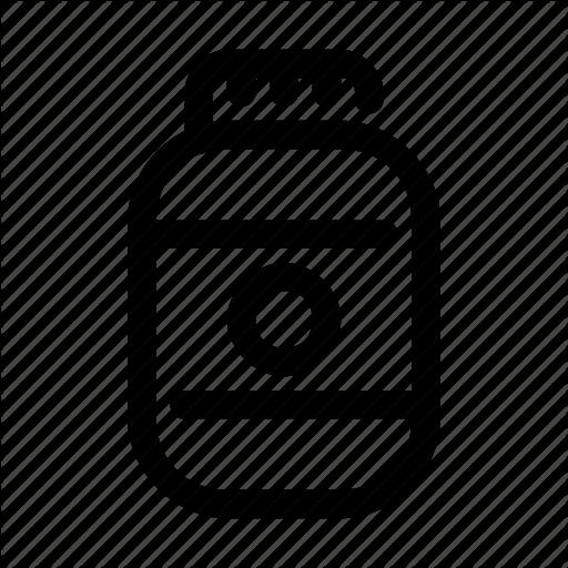 Jar, Pharma, Pharmaceutical, Protein, Whey Icon