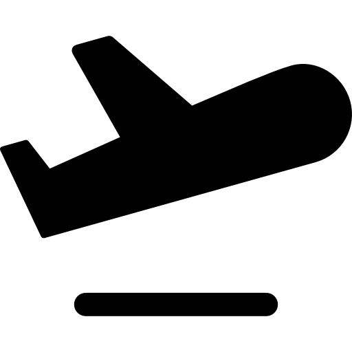 Aeroplane, Airplane, Plane, Transport, Flight, Fly Icon
