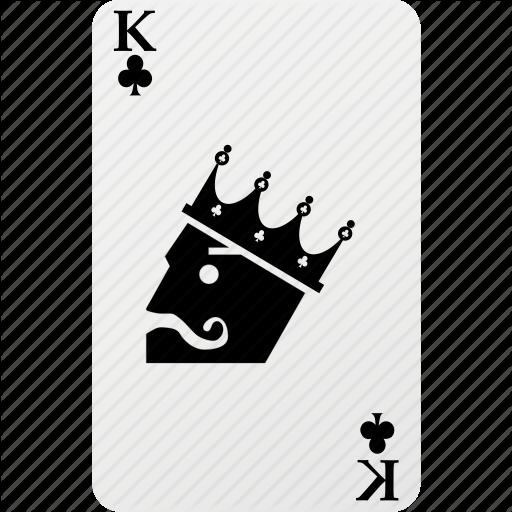 Card, Club, Hazard, King, King Club, Playing Cards, Poker Icon