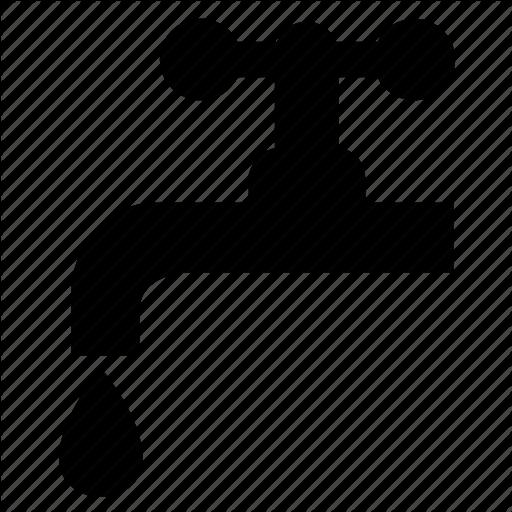 Plumbing, Supply, Tap, Water Icon
