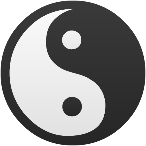 Yin Yang True False Icon Flatastic Iconset Custom Icon Design