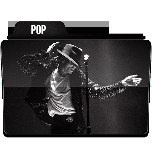 Pop Icon Music Folder Iconset Limav