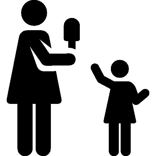 Single Mother, Woman, Love, Ice Pop, Motherhood, Daughter, Mother