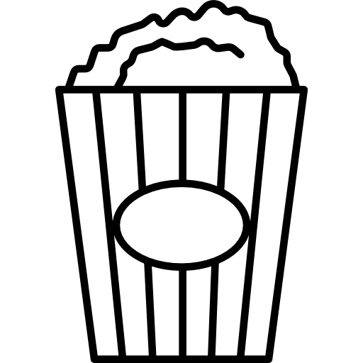 Popcorn Box Icons Free Download