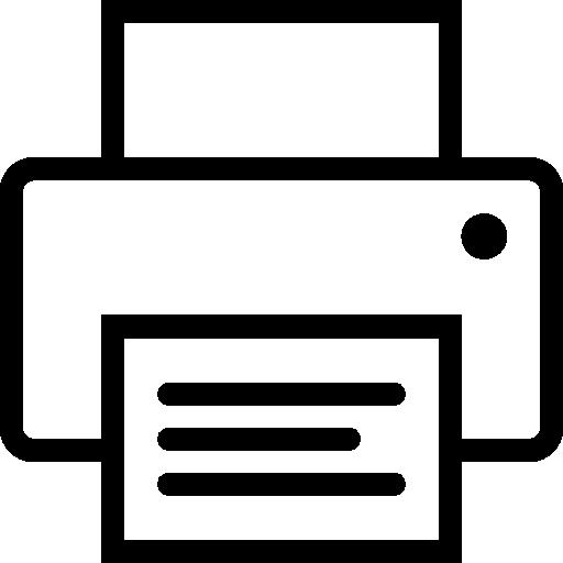 Computer Hardware Print Icon Ios Iconset