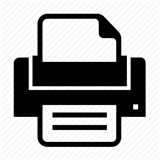 Document, File, Impression, Print, Printer Icon