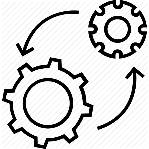 Cog, Cogwheel, Management, Process Management, Processing Icon