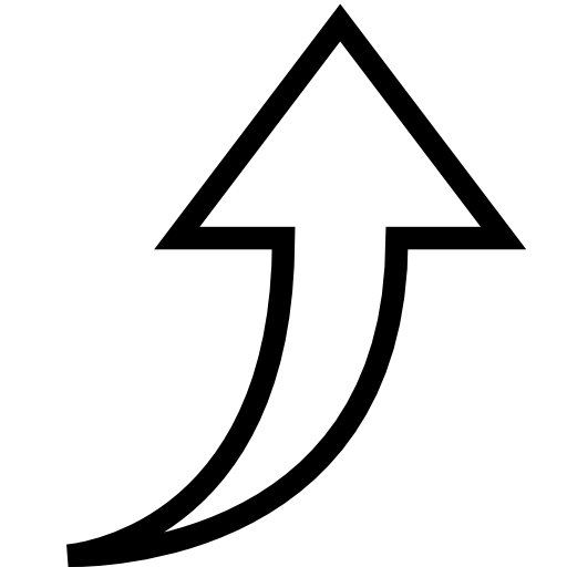 Up Arrow Symbol Icon