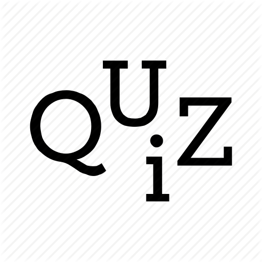 Exam, Letters, Question, Quiz, Test Icon
