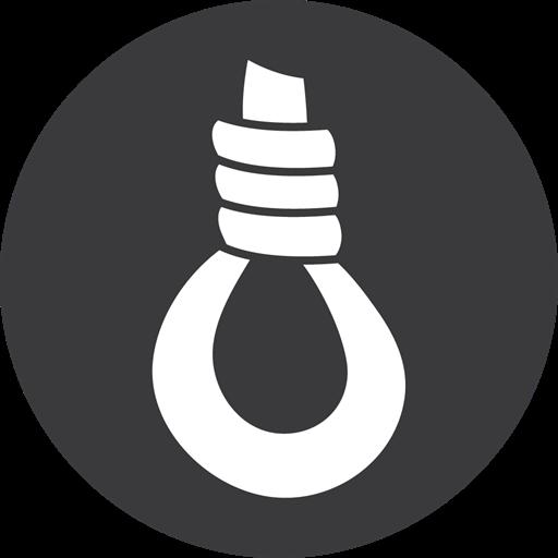 Hangman Game Grey Icon
