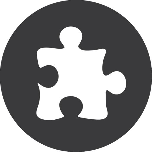 Puzzle Grey Icon